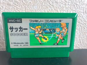 FC ファミコンソフト カセットファミリーコンピューター サッカー soccer
