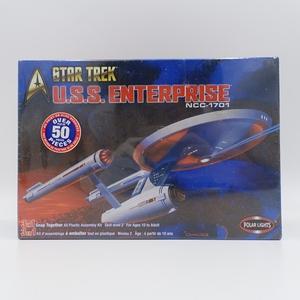 未開封!U.S.S. ENTERPRISE エンタープライズ/ 1/1000 プラモデル/STAR TREK スター・トレック/NCC-1701/2-570
