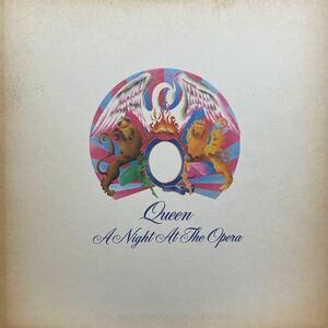 LP ◎ USオリジナル! Queen「A Night At The Opera」7E 1053 クィーン オペラ座の夜 ボヘミアンラプソディー 収録 米国盤 レコード