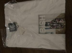 新品 BiSH ビッシュ GUコラボ Tシャツ Sサイズ 白 アイナ・ジ・エンド