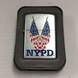 未使用【中古】ジッポ オイルライター NYPD ニューヨーク市警 2003[jgg]