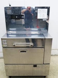 D825◆ホシザキ 2011年◆ロストルクリーナー RCW-350MD 3相200V50Hz W950×D700×H1550 焼肉用鉄板洗浄機 金網洗浄機