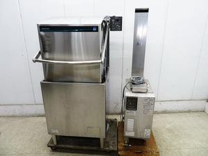 D815◆ホシザキ2019年◆食器洗浄機+ガスブースター 3相200V50Hz/都市Gヒートパイプ仕様 W640×D655×H1435+W290×D532×H1525