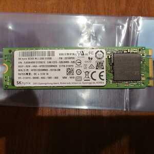 【中古】SK hynix M.2(2280) SATA SSD HFS512G39MND-3510A