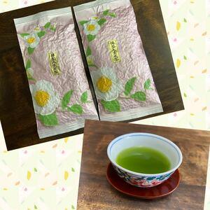 水出しでも!抹茶入り玄米茶 80g×2個 緑茶 静岡県産 静岡茶 玄米茶