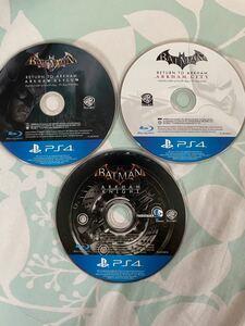 PS4 ソフト バットマン アーカムナイト BATMAN 3部作セット