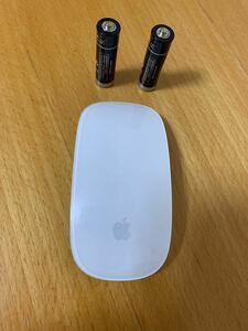 【動作品】 美品 純正 Apple Magic Mouse アップル マジックマウス ワイヤレスマウス A1296__1