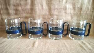 未使用 サッポロビール グラス 4個 まとめて まとめ売り ビアグラス ビアマグ ガラス コップ 居酒屋 レトロ 店舗 宅飲み パーティー