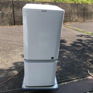 三菱 2ドア冷蔵庫 2015年 単身者向け冷凍冷蔵庫 146リットル