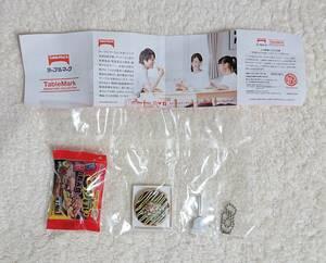 食品サンプル テーブルマーク ごっつ旨い お好み焼 ミニチュア 約4cm×6.5cm 新品未開封