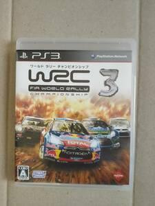 PS3 ワールド・ラリー・チャンピオンシップ WRC3 FIA WORLD RALLY CHAMPIONSHIP 即決 送料込み