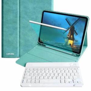 iPad Pro 11 キーボード ケース アイパッドプロ11 inch カバー ペンシルホルダー付き手帳型 スタンド機能付き