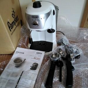 DeLonghi  エスプレッソ  カプチーノ  コーヒーメーカー EC221 ほとんど新品
