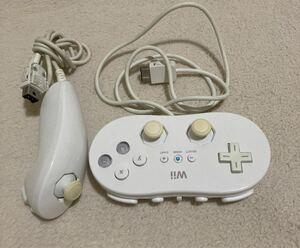 Wii クラシックコントローラー ヌンチャク 任天堂