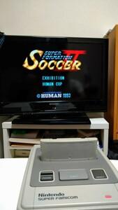 SFCソフト スーパーフォーメーションサッカーⅡ 初期動作確認済☆まとめ買い値引き可