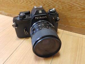 ニコンカメラ レンズ有り・シャッターOK・他動作未確認 Nikon EM