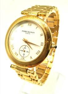 Pierre Balmain バルマン アンティーク ウォッチ メンズ サファイアガラス スモールセコンド 時計