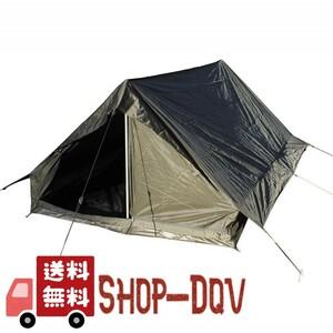 【官給品】フランス陸軍 2人用 テント グランドシート付き 軍幕 未使用品 ツーリング ソロ キャンプ