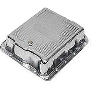700R4 4L60 A/T クロームミッションオイルパン★キャデラックブロアム/カプリス/インパラなど ATパン シボレー