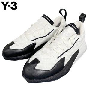 Y-3 ワイスリー 新品 ヨウジヤマモト adidas アディダス UK8(26.5cm)FZ4319 ORISAN オリサン 黒/白 メンズ スニーカー 送料無料