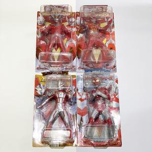 【未開封】 4個 ビッグサイズソフビフィギュア ウルトラシリーズ ウルトラマン 人形 おもちゃ 玩具 バンプレスト 円谷プロ *や20*