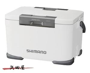 35%off シマノ フィクセル ライト 300 NF-430U ピュアホワイト  新品 即決 クーラーボックス