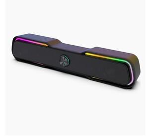 スピーカー ステレオ USB サウンドバー テレビ/パソコン/スマホ 対応