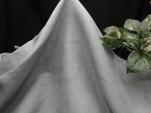 新入荷!掘り出し品!日本製!高級ブランドオリジナル!なかなか手に入らない!糸細上質リネン100%!スカイグリーン114cm巾×2m