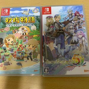 【Switch】 牧場物語 オリーブタウンと希望の大地 ルーンファクトリー5