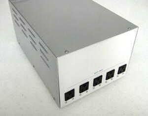 完動整備済 保証 カスタム銀箔塗装 東亜電子 高級アイソレーション 大容量1000VA 1KVA クリーン電源 絶縁トランス 日本製 医用IEC-60601-1