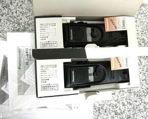 貴重 極上 元箱入 使用僅少 1台 パナソニック Panasonic 500mW 8ch CB無線機 RJ-410Z 市民合法無線 免許不要送受信 ナショナル National ①