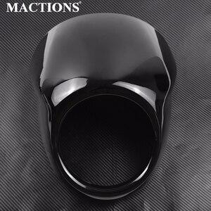★未使用★ カスタム グロスブラック フルヘルメット ヘッドライト XG500 750 2014 2015 2016 2017