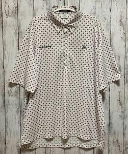 【le coq GOLF】 ルコックゴルフ メンズ 半袖ポロシャツ 3Lサイズ 大きいサイズ 迅速発送! 送料無料!
