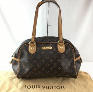 LOUIS VUITTON ルイヴィトン モントルグイユPM トートバッグ