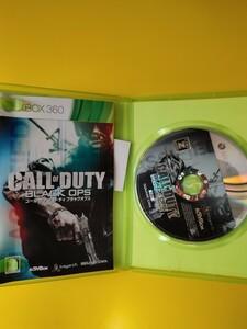 XBOX360 Call of Duty Black Ops cod BO コールオブデューティブラックオプス 字幕版