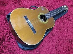 マルハ HASHIMOTO GUT GUITAR クラシックギター No.235 ナチュラル ソフトケース ガットギター 楽器 機材 動作確認済み