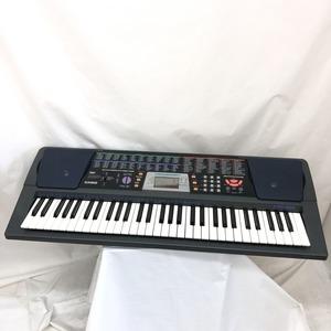中古 CASIO カシオ 電子キーボード CTK-501 ブラック 61鍵盤 電子ピアノ 鍵盤楽器 アダプター付き H15240