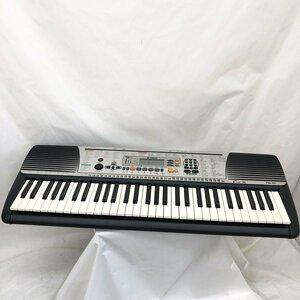 中古 YAMAHA ヤマハ 電子キーボード PSR-201 61鍵盤 ブラック コンパクト 電子ピアノ 鍵盤楽器 アダプター付き H15456