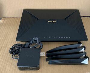 ジャンク現状品 通電のみ ASUS エイスース BRT-AC828 AC2600 Wi-Fi 無線LANルーター 管理A6151