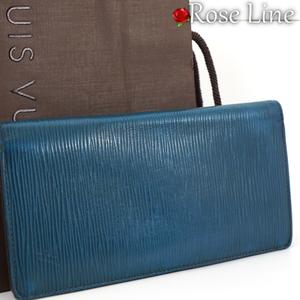 【良好品】ルイヴィトン Louis Vuitton エピ ポルトフォイユ ブラザ 財布 ブルーセレスト 青 WALLET 小銭入れ 札入れ 二つ折り EPI M60616