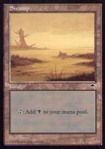 020350-002 TE/TMP 基本土地 沼/Swamp(4) 英1枚