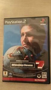 【中古】Winning Eleven 7ソフト&付属PS2用メモリーカード セット ウイニングイレブン7 解説書付 純正プレステ2メモリーカード