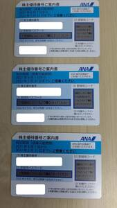 ANA株主優待券です。