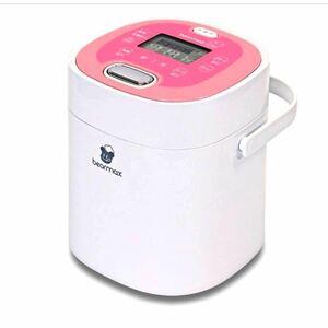 クマザキエイム 小型炊飯器 マルチ・ライスクッカー 桃 MC-106 2.5合炊き