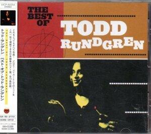 トッド・ラングレン ベスト 19曲 The Best Of Todd Rundgren CD 国内盤 帯 VICP-60254
