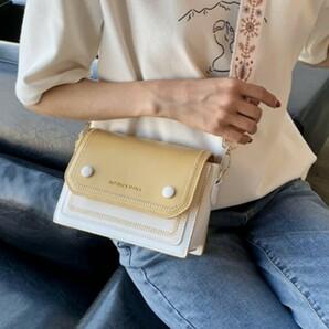 【訳あり】新品 刺繍 ショルダー バッグ イエロー 可愛い 韓国 海外