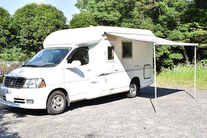 H16 Grand Hiace First custom made CG565 Faairy camper FF heater /2 step bed / toilet / refrigerator other
