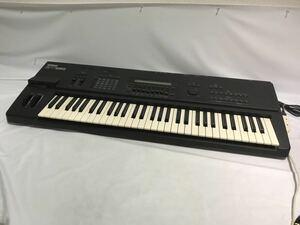 YAMAHA ヤマハ SY85 シンセサイザー 全鍵盤音出し確認 詳細未確認 ジャンク扱い T1060301