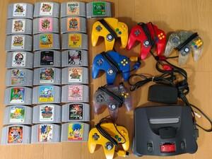 NINTENDO64 ニンテンドー64 Nintendo 一式 拡張パック 大乱闘スマッシュブラザーズ マリオカート ゴエモン