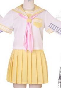 ★コスプレ衣裳★ セーラー服 上下半袖+下着付セット